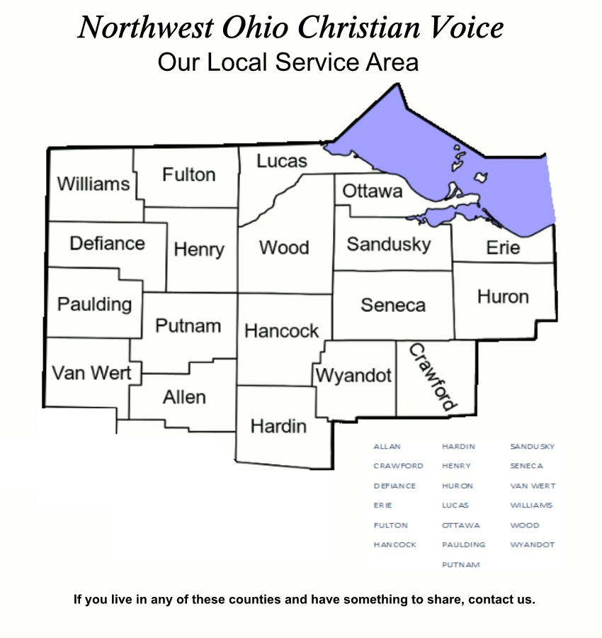NW Ohio Sevice Area Map